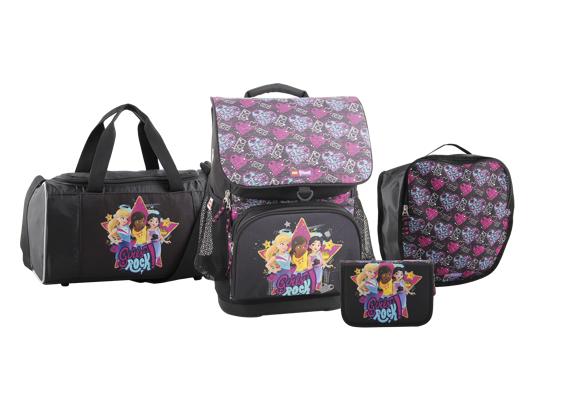 LEGO Schoolbag - Optimo - Friends - Girls Rock (4pcs) (20113-1914)