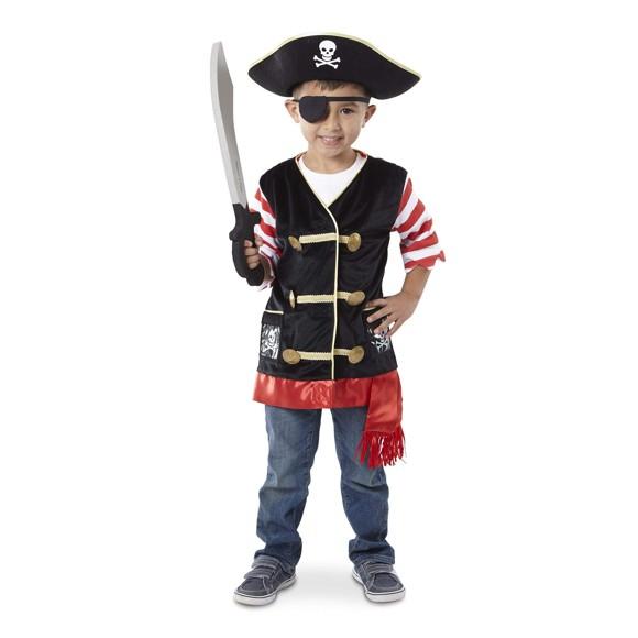 Melissa & Doug - Udklædning - Pirat (3-6 år)