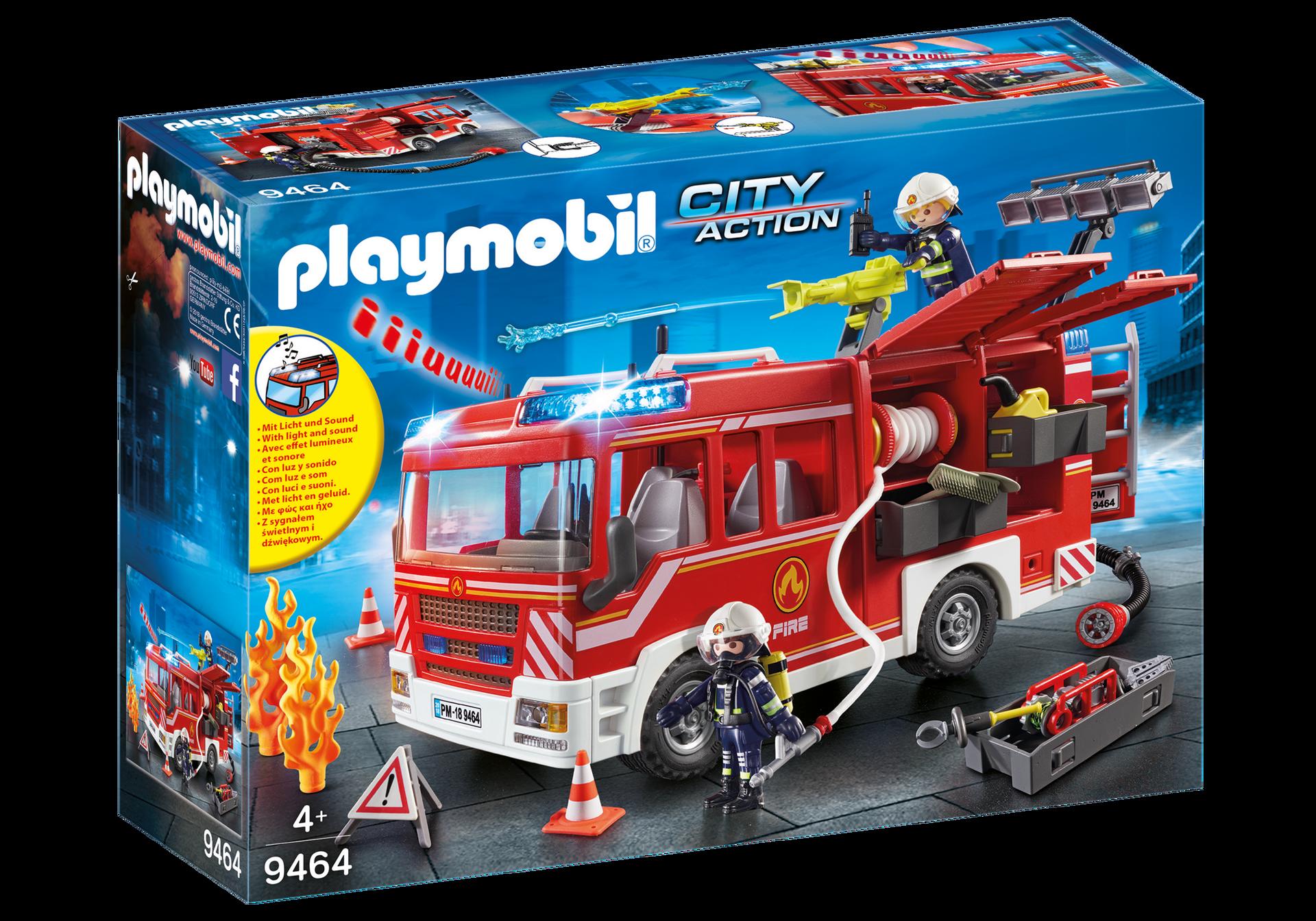 Playmobil - Fire Engine (9464)