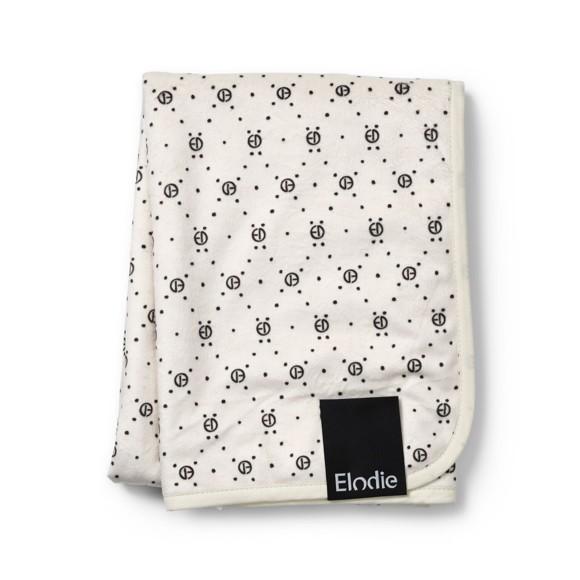 Elodie Details - Velvet Blanket - Monogram