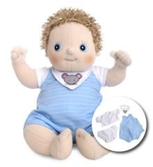 Rubens Barn - Rubens Baby Doll with diaper - Erik (120091)