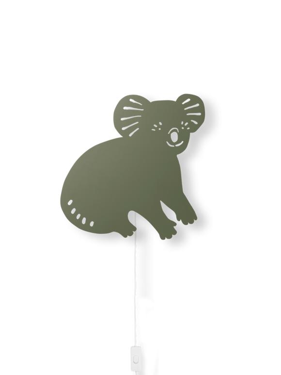 Ferm Living - Koala Lamp - Dark Olive (100049417)