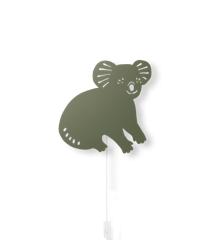 Ferm Living - Koala Lampe - Mørk Oliven