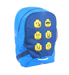 LEGO - School Backpack - Faces - Blue (10048-2006)
