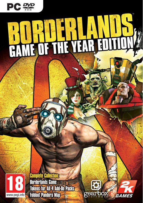Borderlands: Game Of The Year Edition (Code via Email) /PC