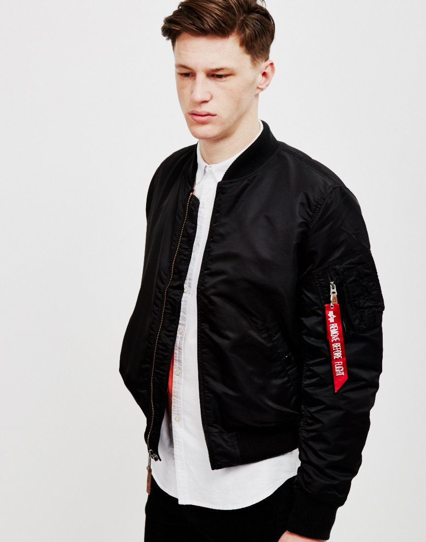 Köp Alpha Industries MA1 VF 59 Bomber Jacket Black