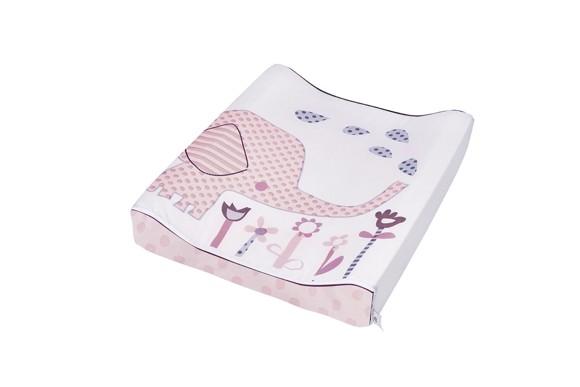 Baby Dan - Changing Mat Elefantastic - Pink