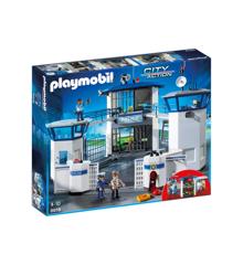 Playmobil - Politistation med fængsel (6919)