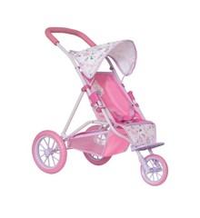 Baby Born - Trehjulet Klapvogn