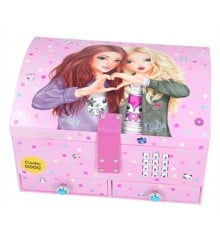 Top Model - Big Jewellery Case With Code & Sound - Pink (0410163)