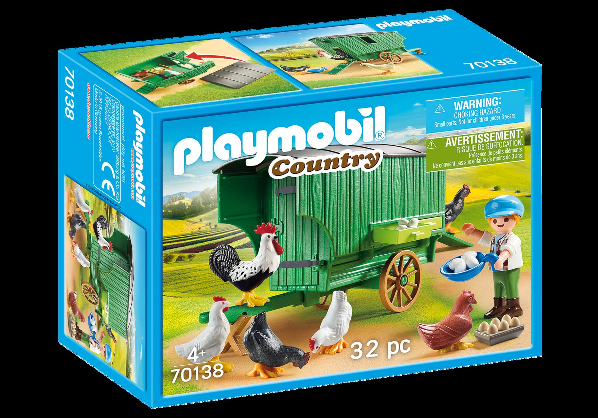 Playmobil - Chicken Coop (70138)