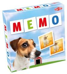 Tactic - Memo - Vendespil med Kæledyr