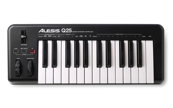 Alesis - Q25 - USB MIDI Keyboard