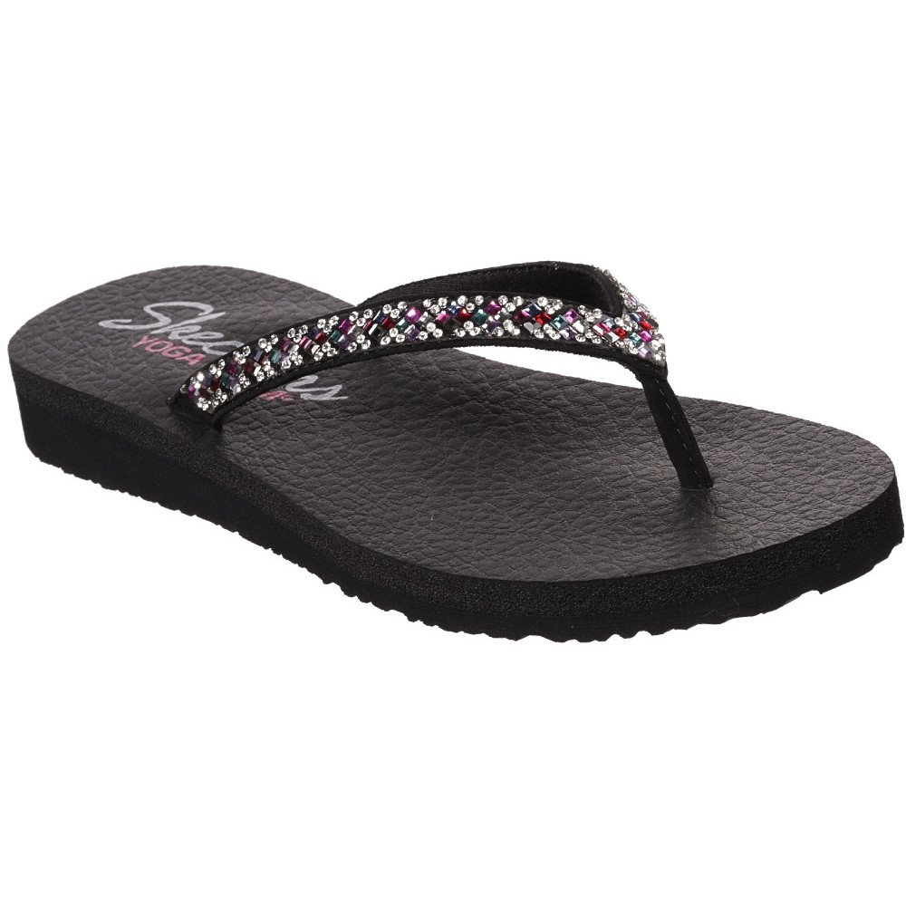 Køb Skechers Womens Meditation Perfect 10 Flip Flop Sandals