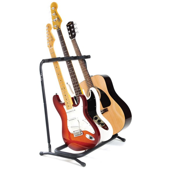 Fender - Multi-Stand 3 - Multiple Stand For Guitar/Bass