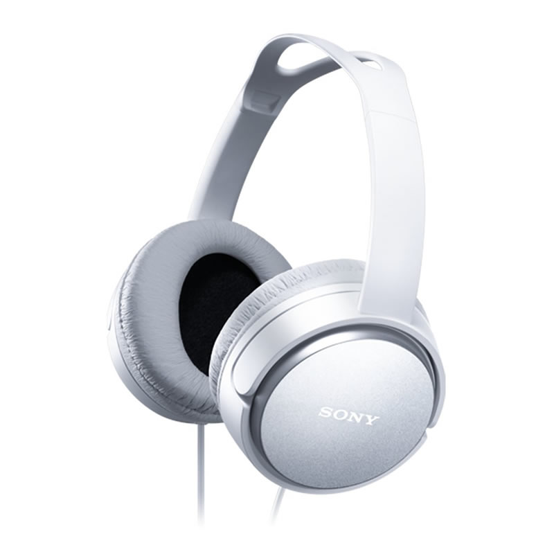 Sony - MDRXD150W Overhead Headphones - White