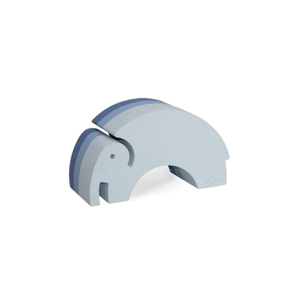 bObles - Medium Elephant, Blue NEW