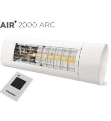 Solamagic - AIR+ 2000 ARC Terrassevarmer Hvid