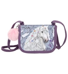 Miss Melody - Small Bag/Wallet w/Glitter - Purple (0410773)