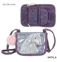 Miss Melody - Small Bag/Wallet w/Glitter - Purple (0410773)