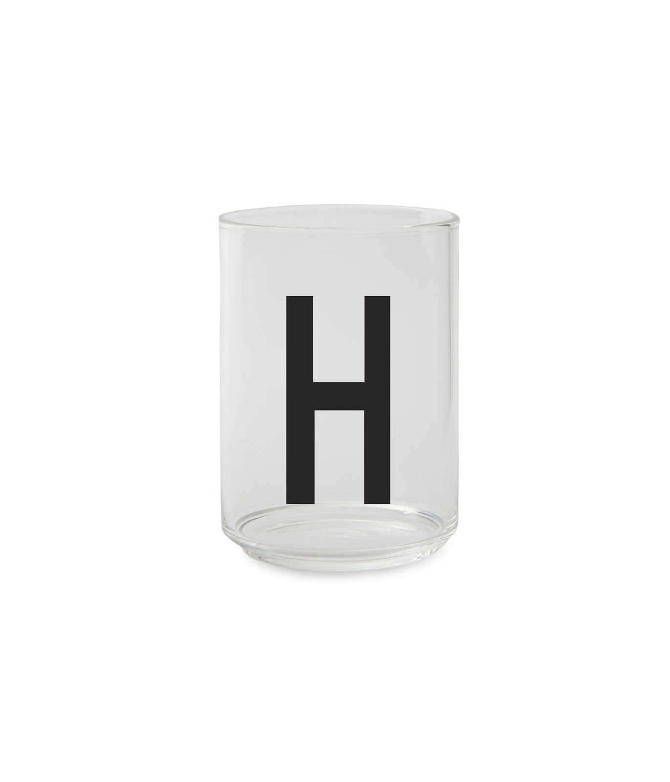 ​Design Letters - Personal Drinking Glass H