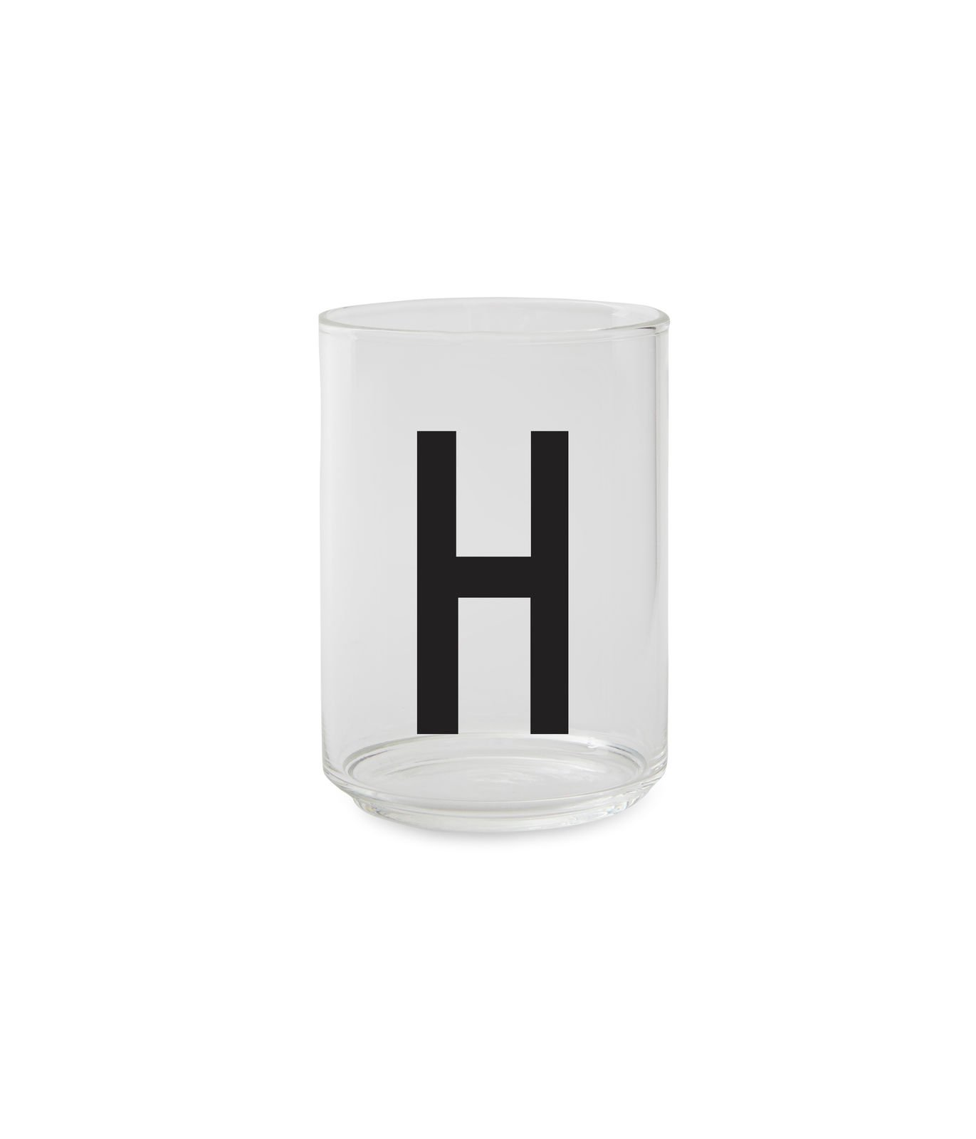 ?Design Letters - Personal Drinking Glass H