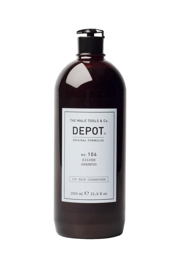 Depot - No. 104 Silver Shampoo 1000 ml