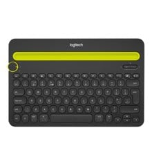 Logitech K480 MultiDevice Bluetooth Keyboard for PC Smartphone + Tablet - Black