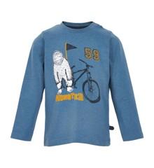 MINYMO - T-Shirt Langærmet m. Print Monster