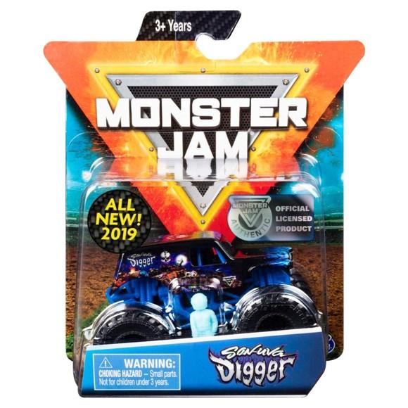 Monster Jam - 1:64 Single Pack - Son-Uva Digger (20105555)