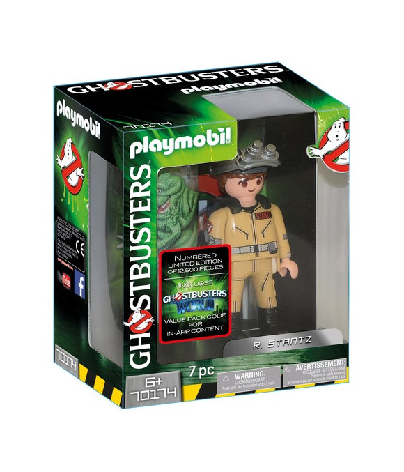Playmobil - Ghostbusters - Collection Figure R. Stantz, 15 cm (70174)