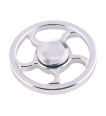 Fidget Spinner - Circle King Silver