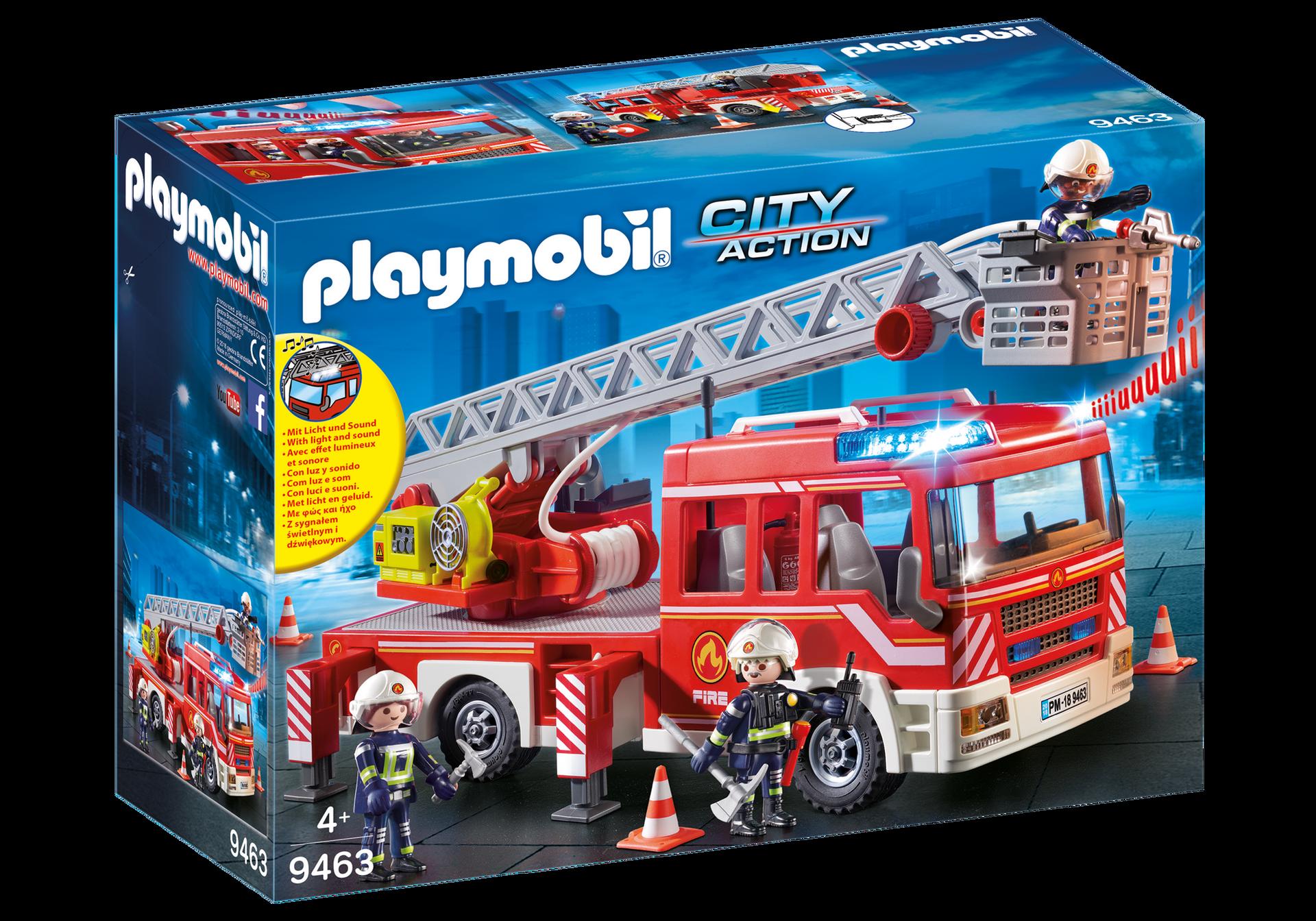 Playmobil - Fire Ladder Unit (9463)