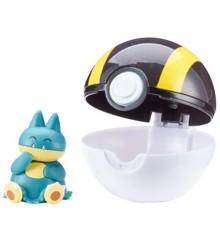Pokemon - Clip'N Go - Munchlax (5 cm)