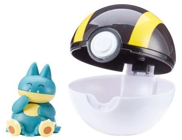 Pokemon - Clip'N Go - Munchlax (95076)