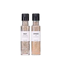 Nicolas Vahé - Salt Med Hvidløg & Timian + Krydderiblanding Til Fisk