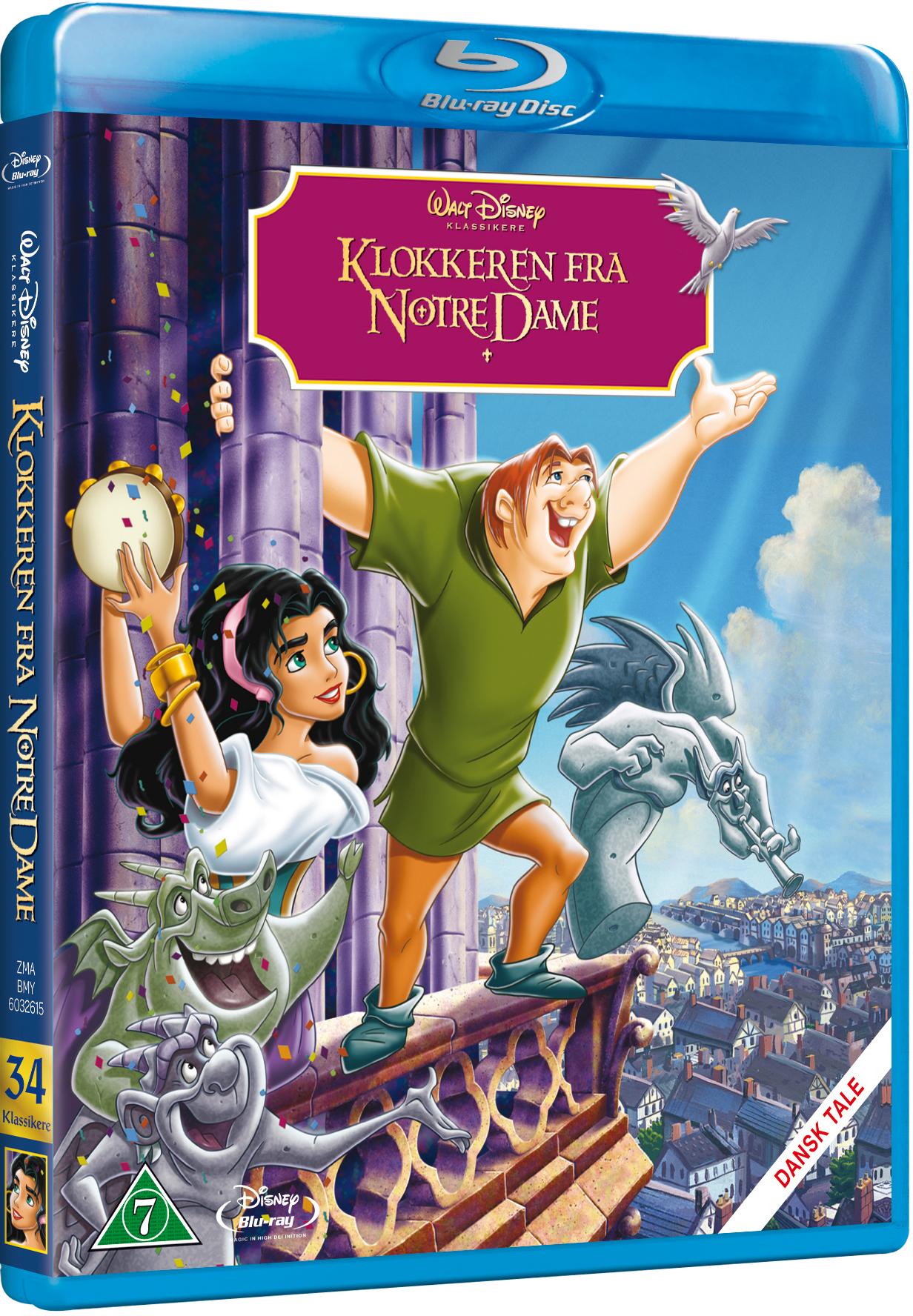 Klokkeren fra Notre Dame Disney classic #34