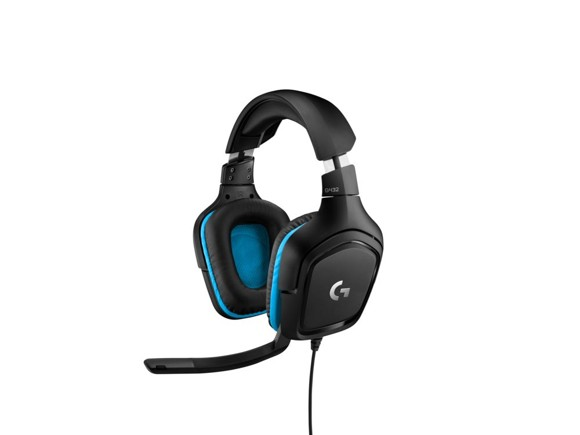 Logitech G432 Gaming headset med ledning og 7.1-surroundsound