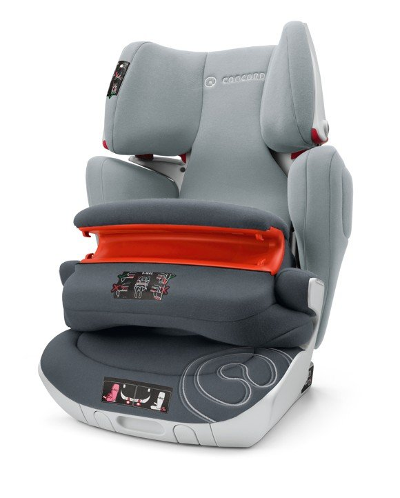 Concord - Transformer XT Pro Car Seat (9-36 kg) - Graphite Grey