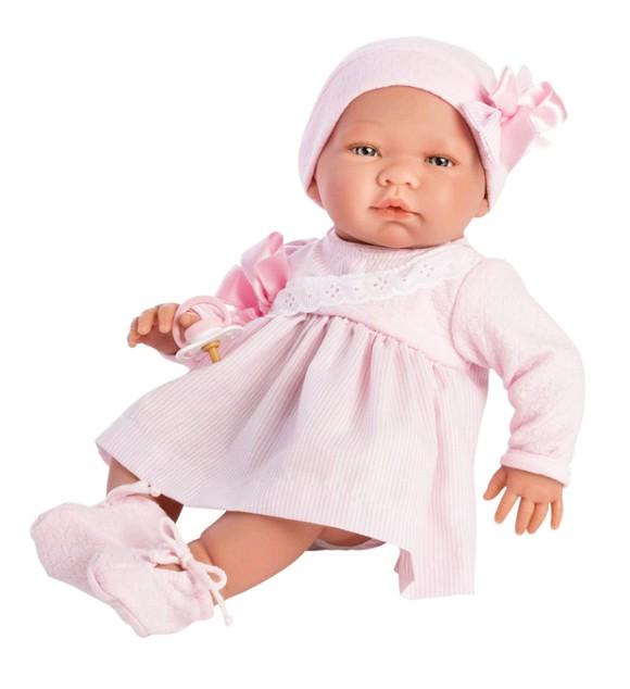 Asi - Maria dukke med rosa kjole (43 cm)
