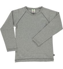 Småfolk - Økologisk Basis Langærmet T-Shirt - M. Grå Mix
