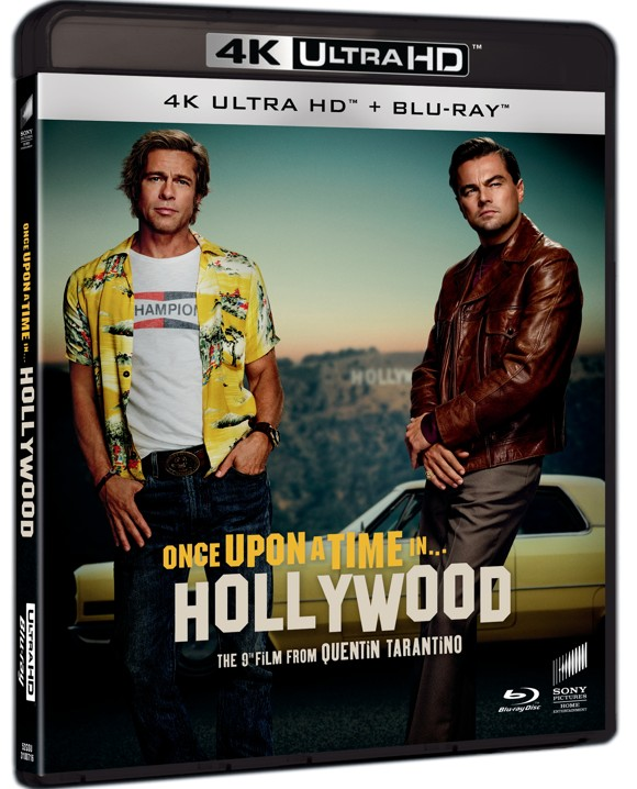 Once Upon A Time In Hollywood (Uhd+Bd)