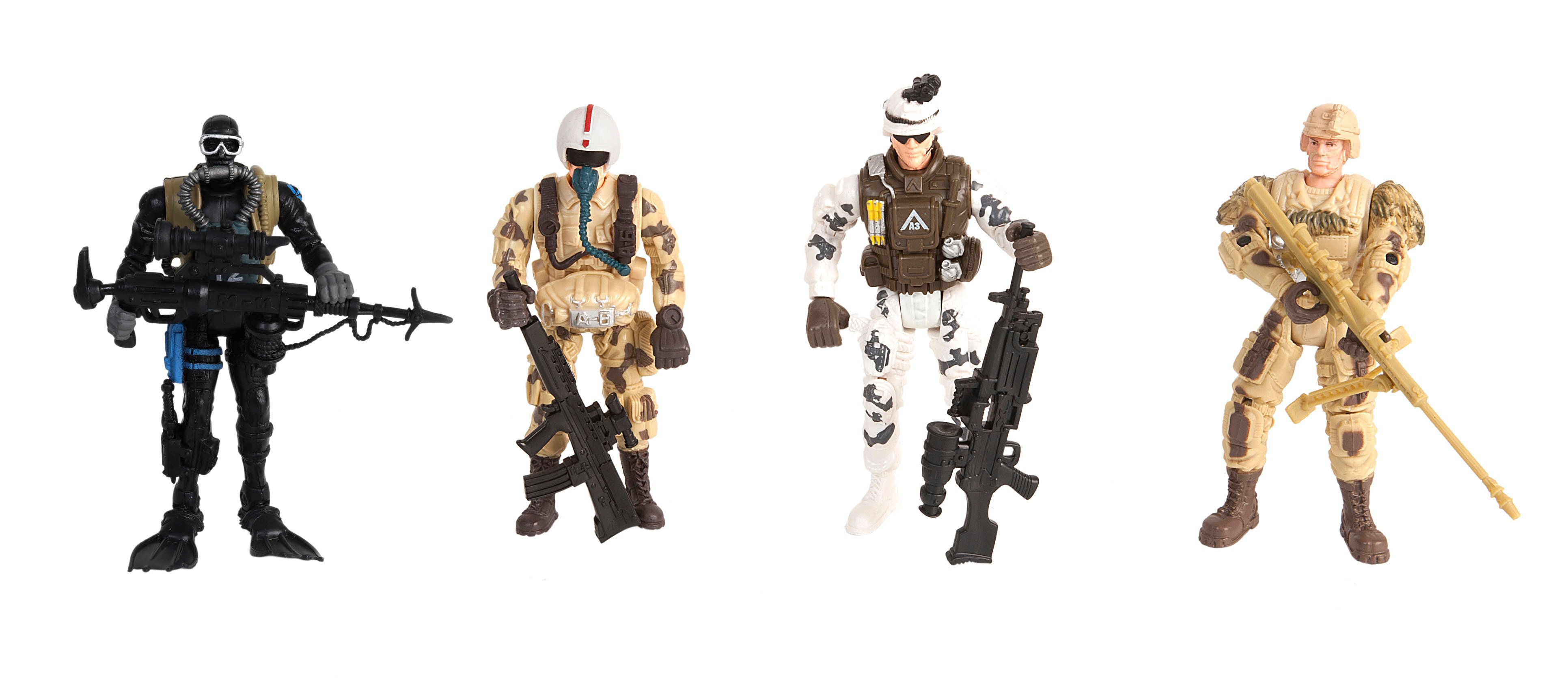 Soldier Force - Squad Patrol Figure Set (545003)