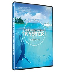 Kurs mod fjerne kyster sæson 3 - DVD