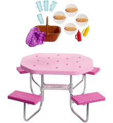 Barbie - Outdoor Furniture - Picnic Table (FXG40)