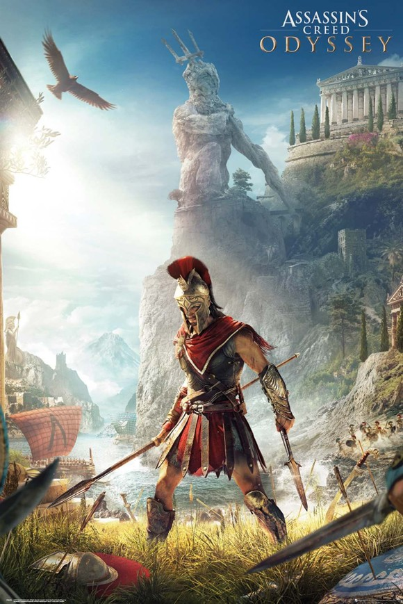 Assassins Creed Odyssey Keyart Maxi Poster