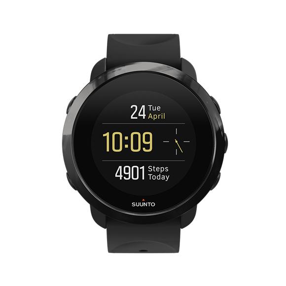 Suunto - 3 Fitness Watch All Black