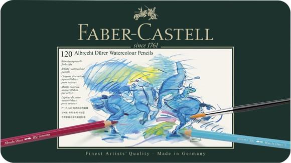 Faber-Castell - Akvarel Farveblyanter Albrecht Dürer Magnus (120 stk.)