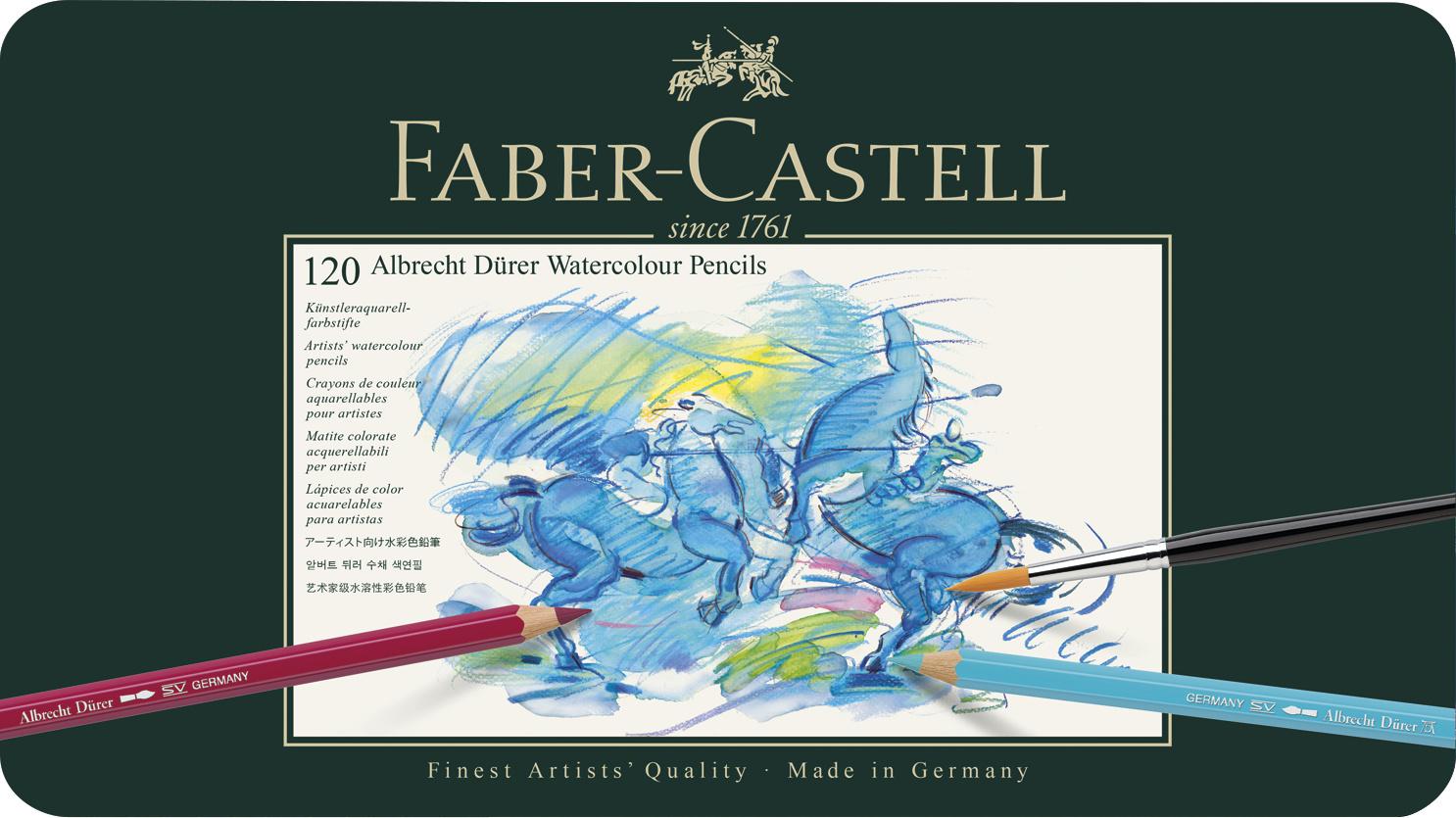 Faber-Castell - Aquarellstift Albrecht Dürer 120er Metalletui