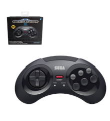 Retro-Bit SEGA MD BT Pad Black
